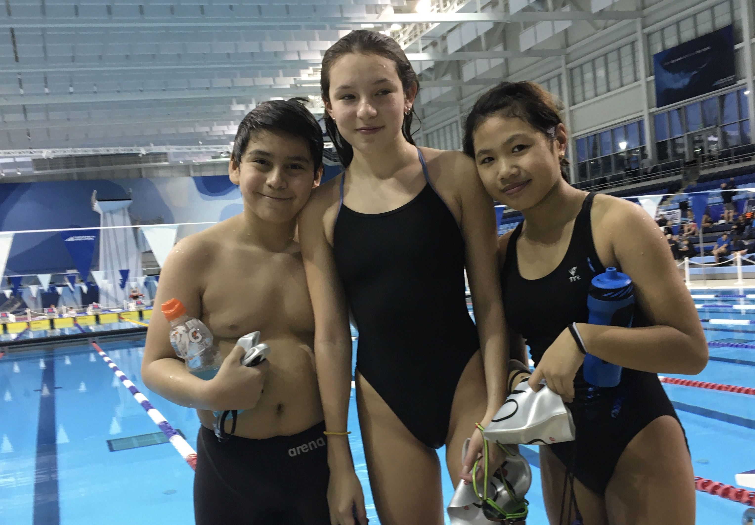 OYO swimmers at LTT Swim Camp