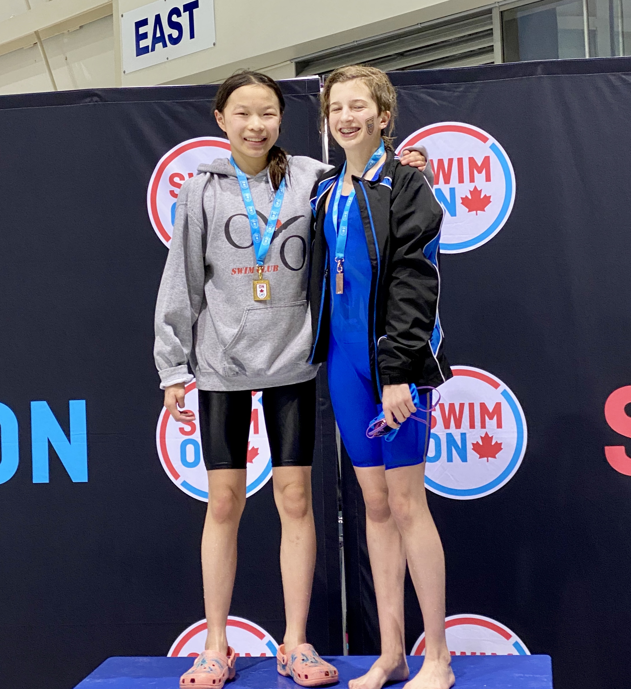 Grace Lu got Gold in 100 BR and qualified for Olympic Trials!!